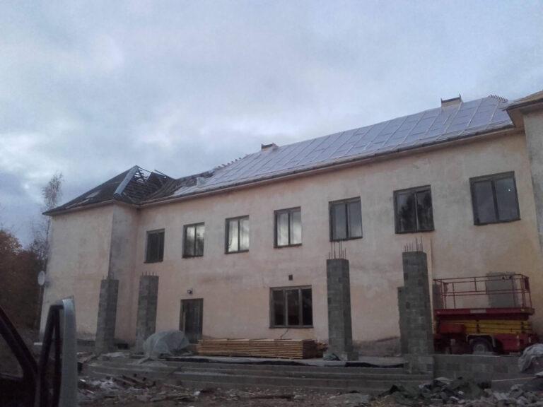 Juuru Rahvamaja katuse ehitus 2016 2 Kolgi Katused