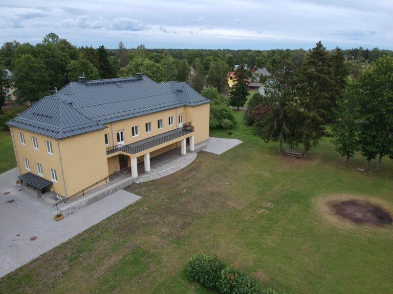 Juuru Rahvamaja katuse ehitus 2016 Kolgi Katused