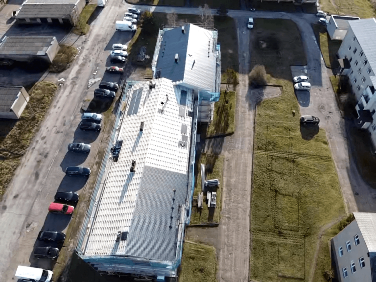 Kärdla Pae 8 katuse ehitus 2020 1 Kolgi Katused