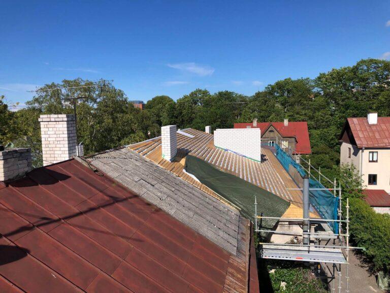 Sõmera tn katuse remont 2019 Kolgi Katused