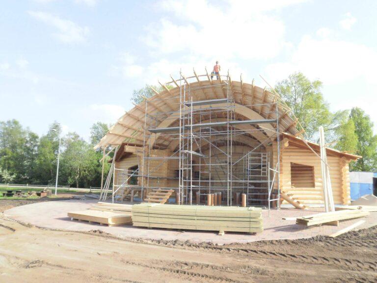 Vanamõisa laululava katus 2011 Kolgi Katus